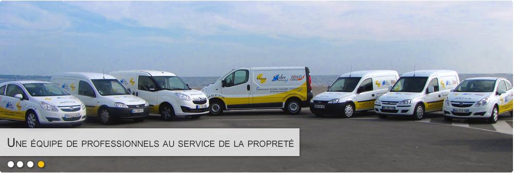 Manet dispose de plusieurs véhicule et agents d'entretien pour répondre rapidement aux demandes de nettoyage