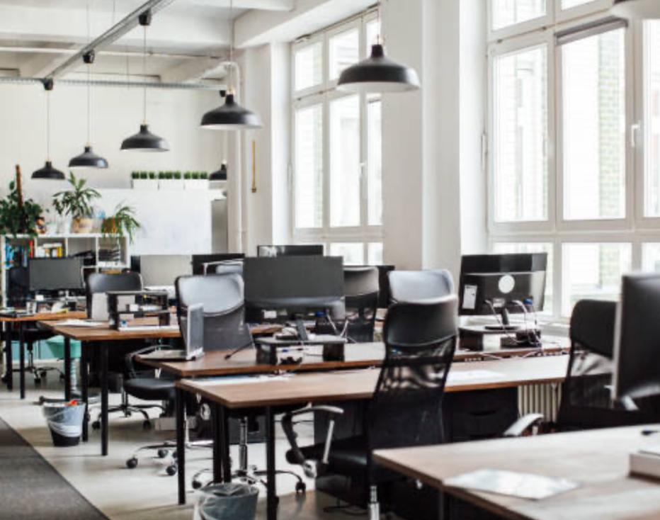 Manet est une entreprise de nettoyage qui propose parmi ses prestations l'entretien de bureaux